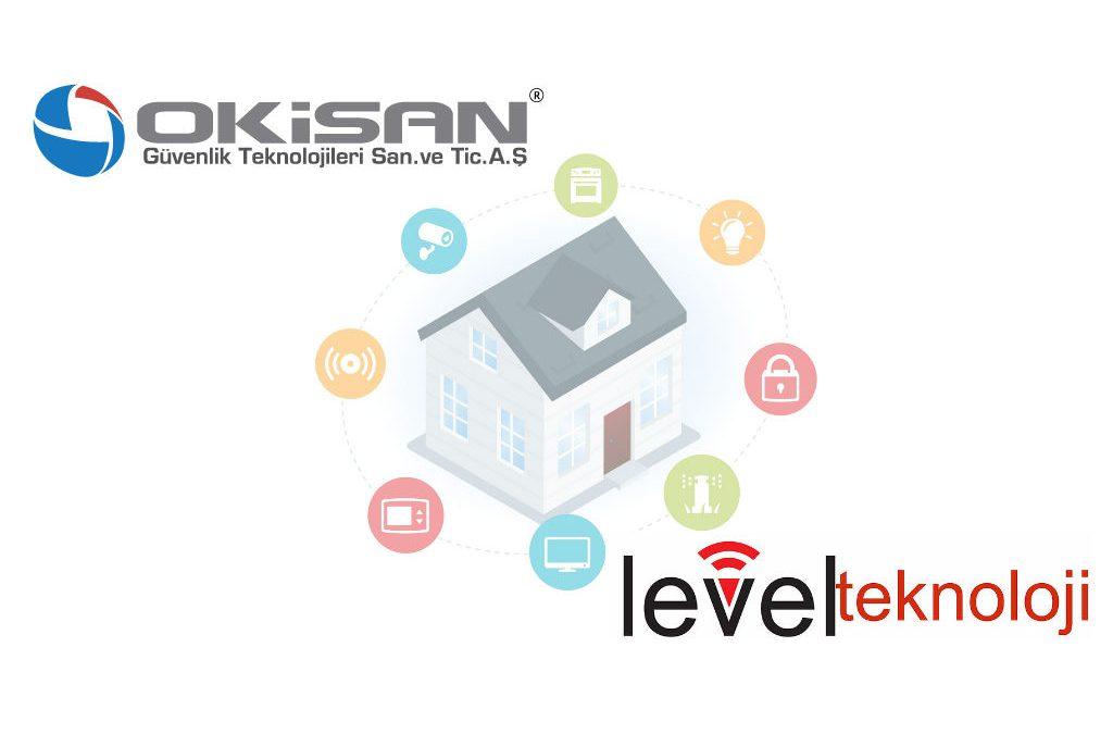Akıllı Ev Sistemlerinde Okisan ve Level Teknoloji İş Birliği