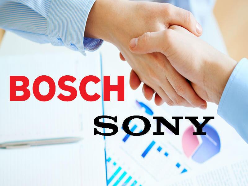 Bosch ve Sony CCTV Sektöründe Birleşti