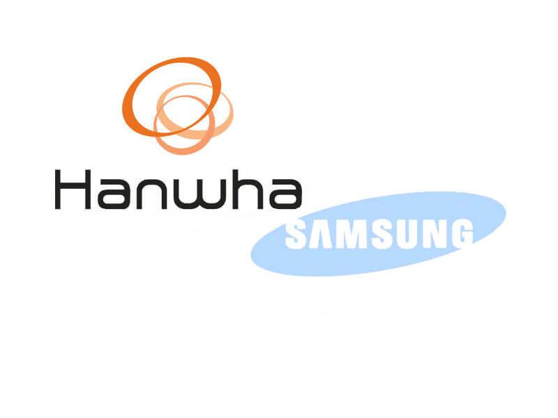 "Samsung: ""Hanwha Techwin"" Oluyor"