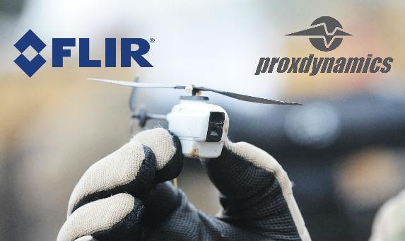 FLIR, DRONE ÜRETİCİSİ PROX DYNAMICS'İ SATIN ALDI