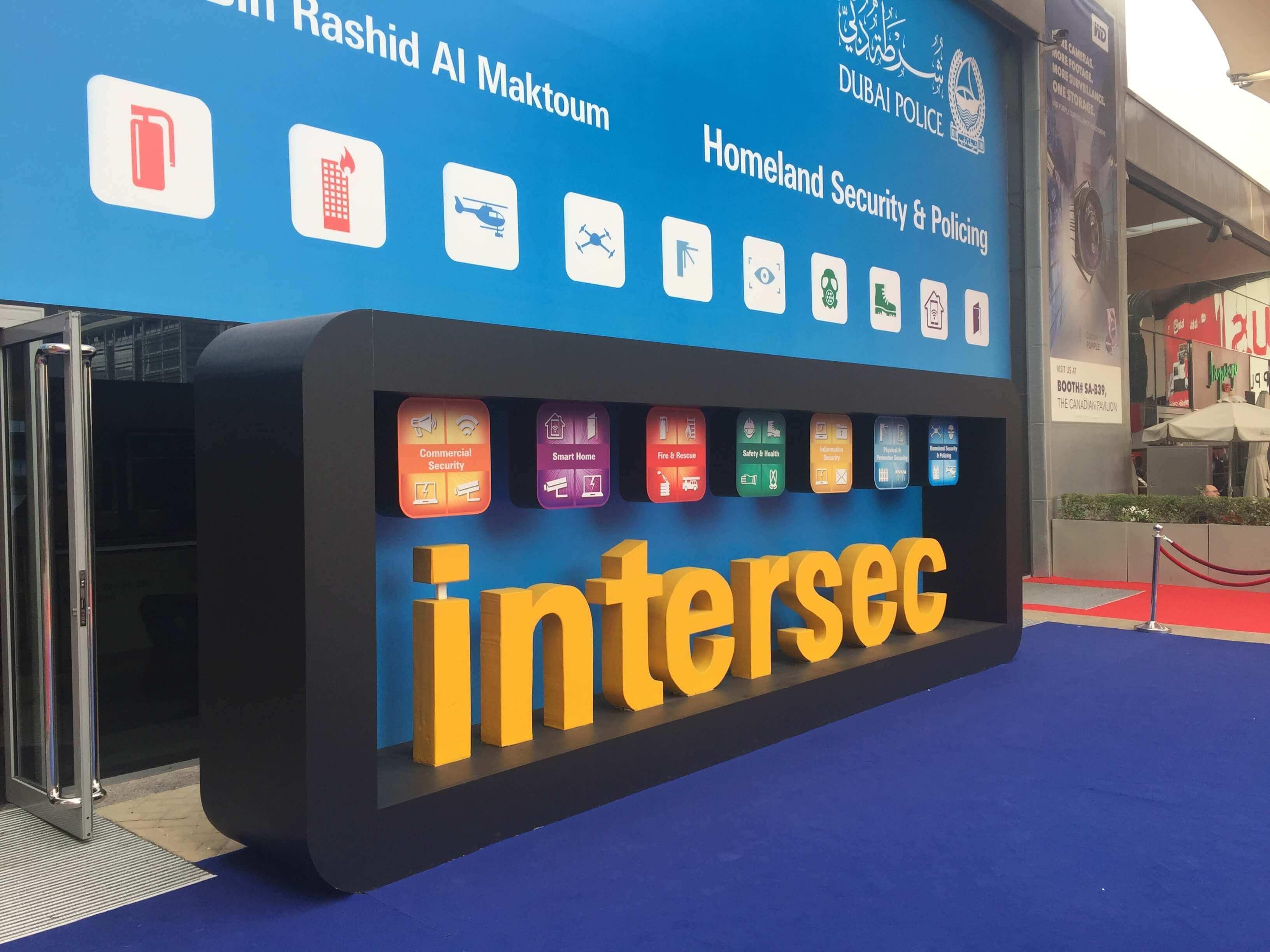 Intersec 2017 (Dubai) Fuar İzlenimleri